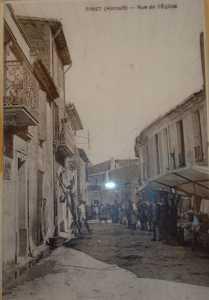 Rue de l'Eglise en 1900