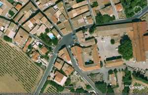 2008 - PINET la place de l'Ancienne Poste