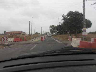 14 Juillet 2011 ---- construction du rond-point