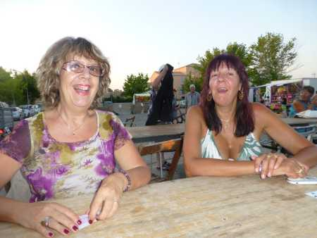 les heureuses perdantes du LOTO Danielle MANSION et Nathalie MULLER (Valence)
