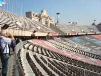 le Stade Olympique  de BARCELONE