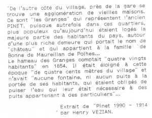 article sur pinet en 1914
